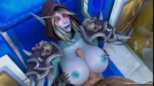 Marvelous Big Tits SYLVANAS PART 2 - WORLD OF WARCRAFT SFM [INSIGNIOUS]