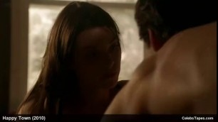 NUDE CELEBRITY Seductive Brunette LAUREN GERMAN EXPOSED AND WILD SEX ACTION SCENES