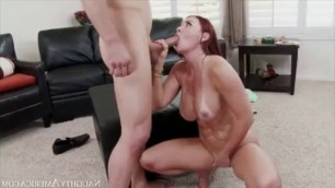 Big Tits Woman Janet Mason Fucks Son's Friend Trent Forrest