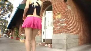 Big Ass Blonde Charlotte Stokely Upskirt