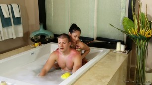 Ariana Marie - Tender Brunette Stepsister Massage