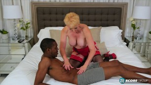 Seka Black & BBC - Black on Black - busty mature granny