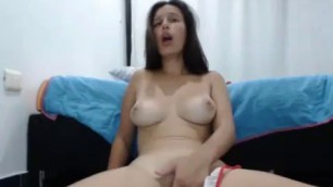 xxprincesslatinaxx playing her pussy for chat until orgasm and pussy squirt Masturbation Solo