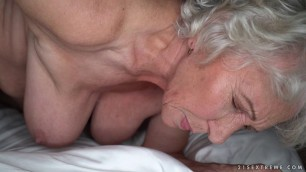 Norma & Rob hairy granny mature cuckold hubby  Don't tell my hubby