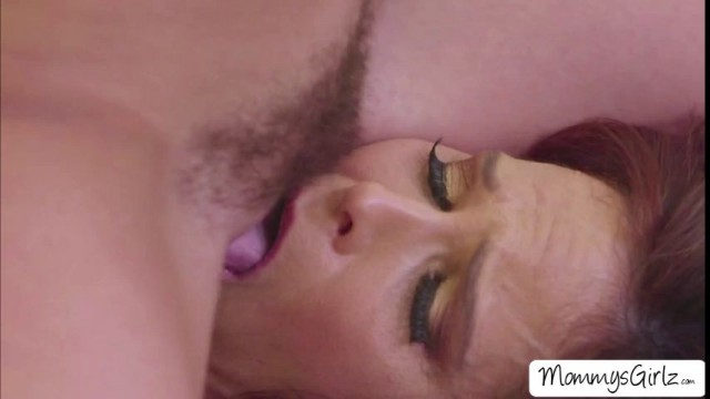 Lesbian sex in the bed with milf Syren De Mer and Whitney Wright