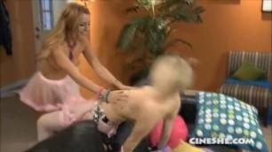 Lexi Belle - Dani Daniels' Lesbian Chats Scene 2. Ash Hollywood, LB
