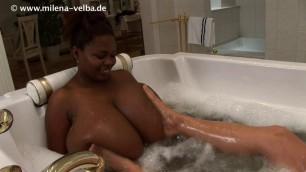 Milena Velba - bathtub mio best porn