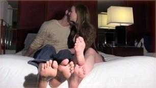 Mistress T - cuckold foot licker