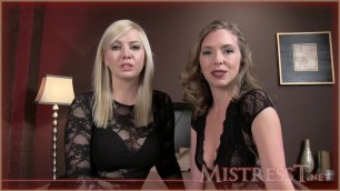 Mistress T - double cuckolded porn