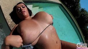 Leanne Crow - Sparkle Hot Tub Bikini GoPro 1 (2014.05.02)