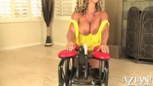 Appealing Blonde Amber Lynn Bach Aziani
