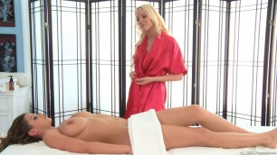 Brooklyn Chase great big Tits AllGirlMassage The Last Appointment