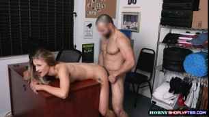 Teen Scarlett Fall didnt expect she can handle big cock