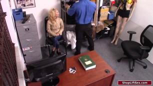 Officer fucks petite teen shoplifter