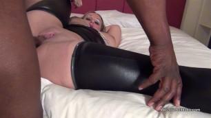 Ashley Rider with big black cock