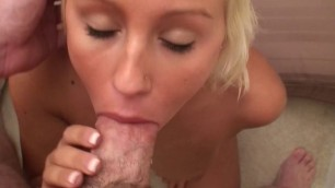Perky Titted Blonde Teen Fucks A Thick Cock