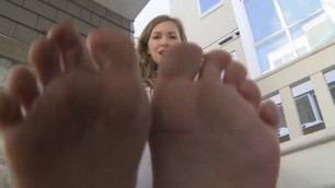 Mistresst Outdoor Foot Pov Play With My Dick Mom