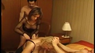 French bisexual anal squirting DP orgy