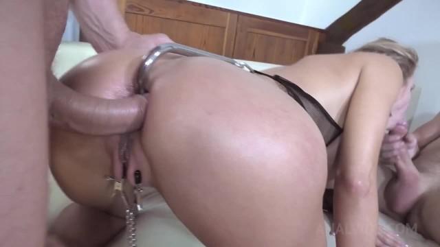 Anal, DP BDSM bondage punishment