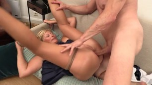 French cougar anal slut ATM