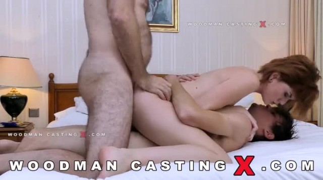 Woodmancastingx Anna Swix Casey Wilson Nude