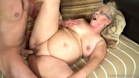 11 Viola Jones aka Elize K. & Rob - Young Cock For Granny Pussy