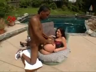 The Great Anal To Luscious Lopez in Stocking