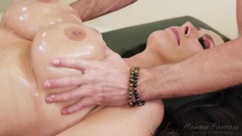 Golden Hands Sexy Big Tits