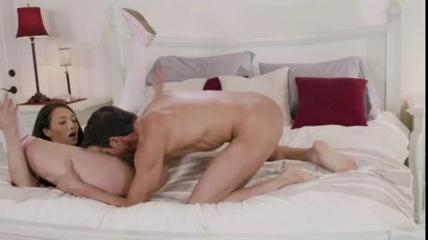 Daddy Loves My Big Tits 3 Sucking My Buddy's Cock