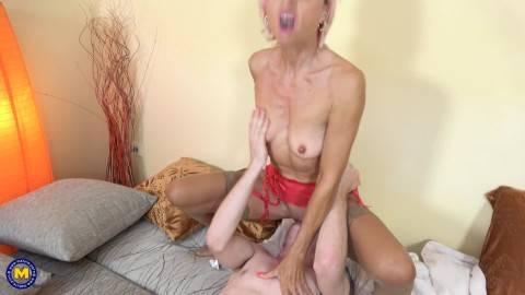 10 Philana (49) - MILF Philana is taking a trip with her stepson