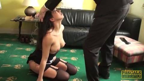 Julia Choke Me Tight and Ram Me Hard 2021 Pussy Close Up