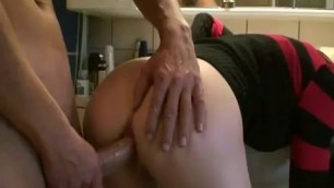 amateur mature blonde loves to suck dick in the toilet