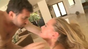 His wife offered her friend to fuck all together with her husband hard