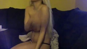 Amateur porn Hot blonde and her sex on camera Homemade hardcore