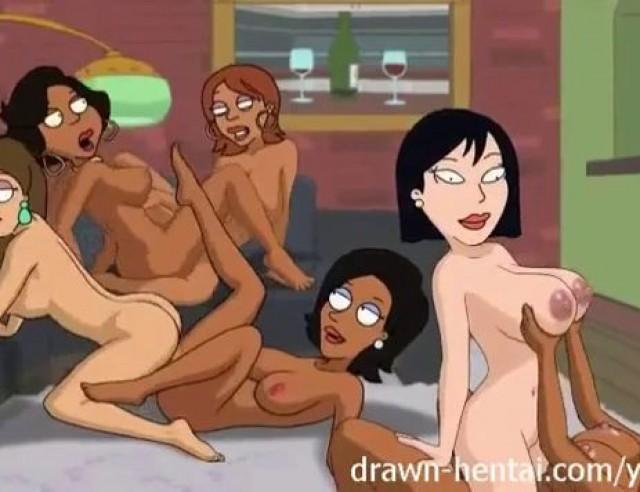 Cleveland Show Porn Night Of Fun 4 Donna Ebony Lesbian Orgy Greg187 Pornoeggs