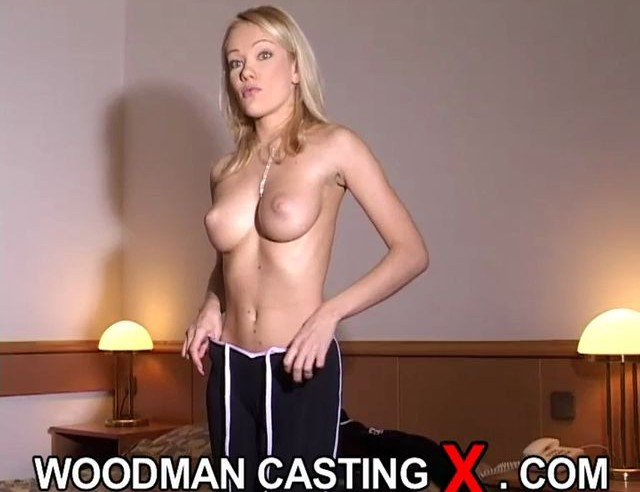 Casting Busty blonde Angel with big ass and Tits hot sucking big cock