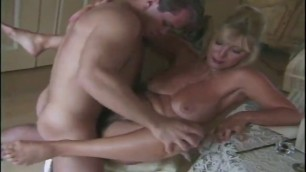 milf with big boobs and super ass turns on a boy and gets booty fucked