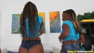 scene4 harmonie diamond Round And Brown 39 Big Butt Black Gonzo Interracial Prebooks