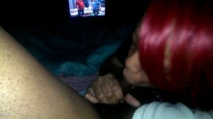 exotic pink haired black girl wife swallow huge cock husband