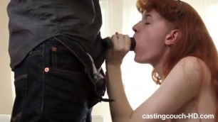 Amateur pussy and ass redhead slut stuffed passionate black shlong