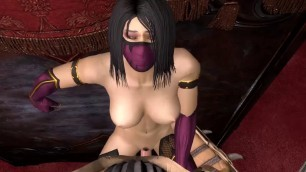 Jade Kitana Milena and Cassie Cage in anal brutal combat with enemies