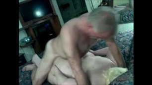 old couple fuck on the amateur cam