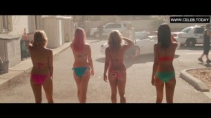 Teen Selena Gomez in Sexy Bikini Teen Girl Spring Breakers 2013