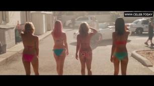 Teen Selena Gomez in Sexy Bikini Teen Girl Spring Breakers 2013
