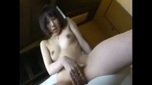 girl with perky titties takes a hard shaft in her