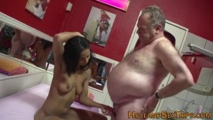 Real dutch prozzie rides mothers sucking dicks