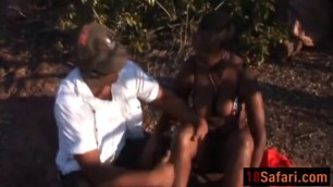 African bbc blowjob outdoor amateur big boobs