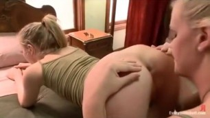 LESBIAN ASS LICKING Inga BIG BUMS KISSED AND LICKED