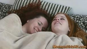 Mormon Agatha slut muff diving
