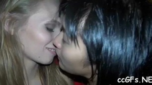 college babe licks good pussy of her lesbo girlfriend